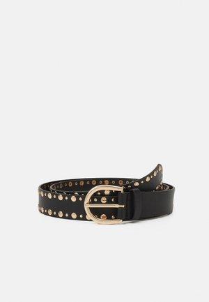 PCZAFINA  - Belte - black/gold
