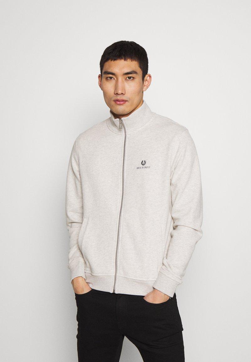 Belstaff - ZIP THROUGH - Zip-up hoodie - heather grey melange