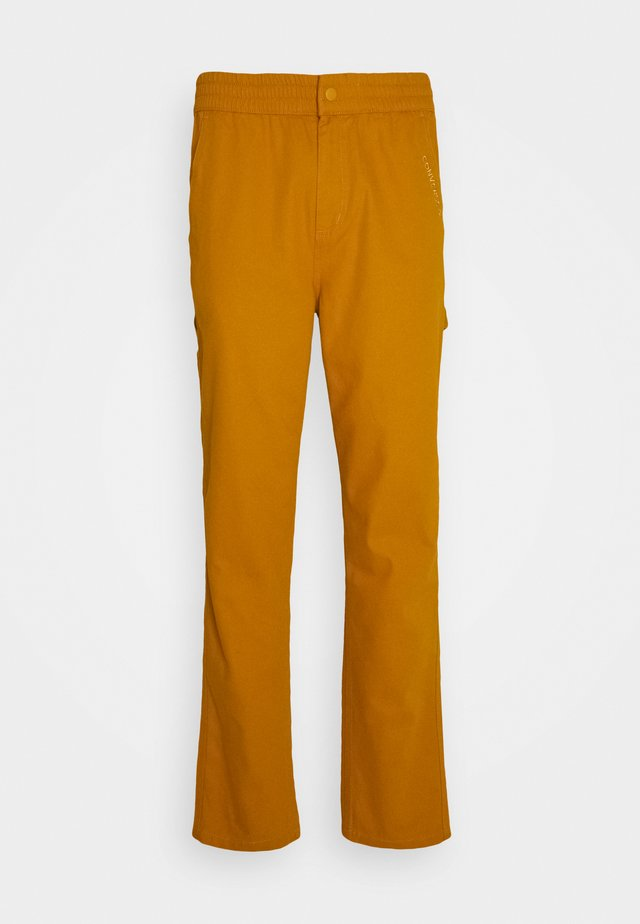 EASY WAIST CARPENTER PANT - Trousers - saffron yellow