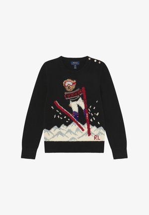 SKI JUMP  - Jumper - polo black