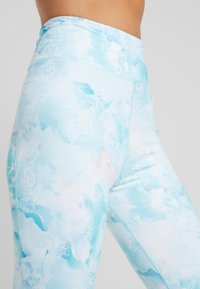Rojo - WOMENS FULL LENGTH PANT - Calzamaglia - light blue - 4