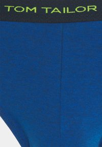 TOM TAILOR - BRIEF 3ER PACK - Briefs - blue dark - 4