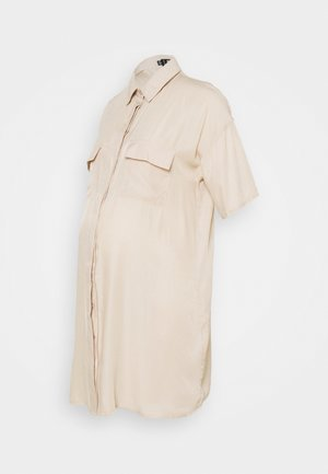 UTILTY  DRESS - Shirt dress - sand
