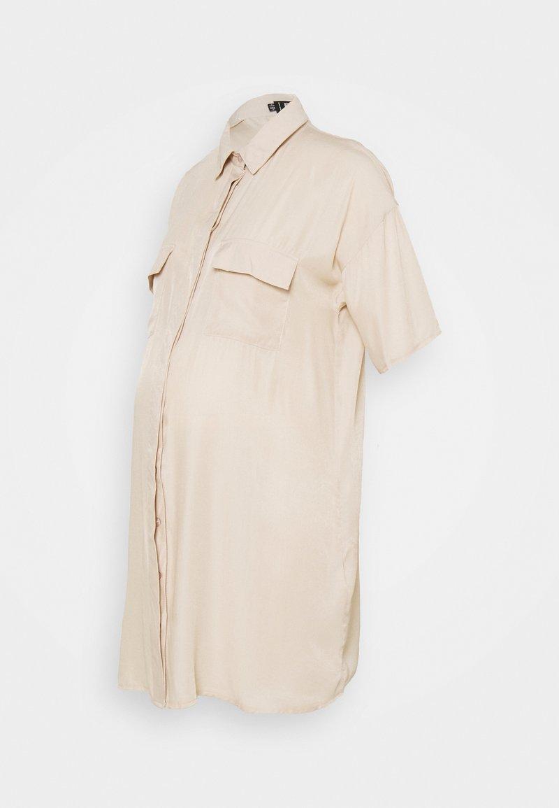 Missguided Maternity - UTILTY  DRESS - Shirt dress - sand