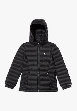 FITTED LIGHT JACKET - Down jacket - black