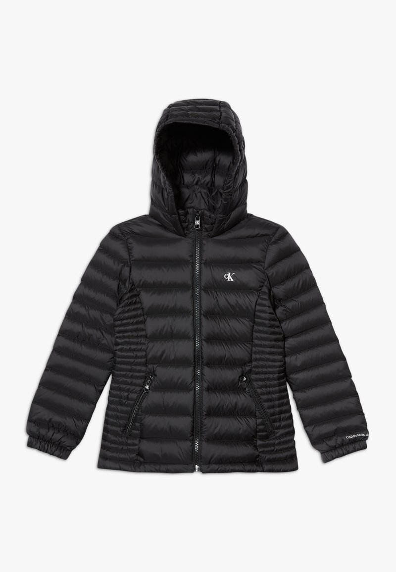 Calvin Klein Jeans - FITTED LIGHT JACKET - Down jacket - black