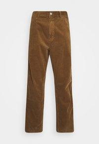 Carhartt WIP - SINGLE KNEE PANT URBANA - Kangashousut - hamilton brown rinsed - 4