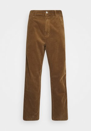 SINGLE KNEE PANT URBANA - Trousers - hamilton brown rinsed