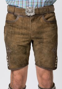 Stockerpoint - Shorts - brown - 4