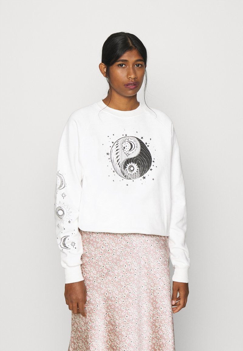 Topshop - MYSTICAL MOON  - Sudadera - off-white