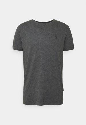 Undershirt - dunkelgraue melange