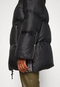 MICHAEL Michael Kors - LOGO TAPE ECO PUFFER - Down jacket - black - 3