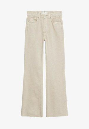 ARIADNA - Jeans bootcut - open beige