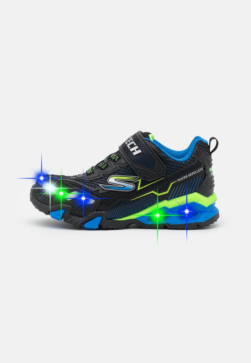 Skechers - HYDRO LIGHTS - Trainers - black/blue/lime