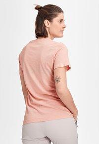 Mammut - Basic T-shirt - powder rose - 1