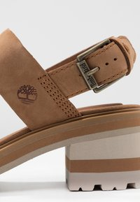 Timberland - VIOLET MARS 2 BAND SANDAL - Sandals - rust - 3