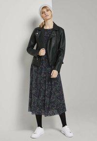 TOM TAILOR - Day dress - black - 1