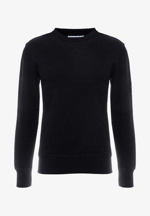 MONOGRAM SLEEVE BADGE - Sweatshirt - black