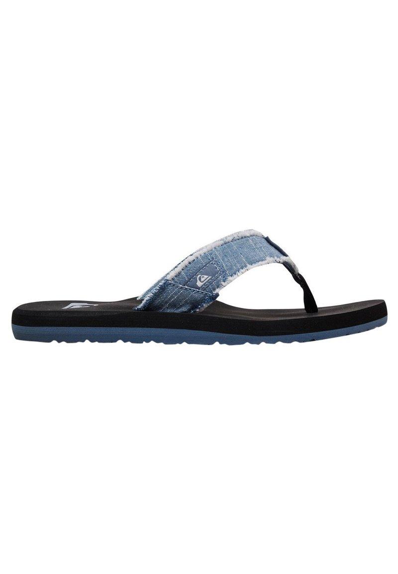 Quiksilver - MONKEY ABYSS YT  - T-bar sandals - blue/blue/black