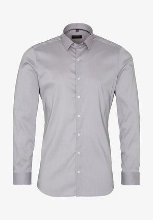 SUPER SLIM - Shirt - hellgrau