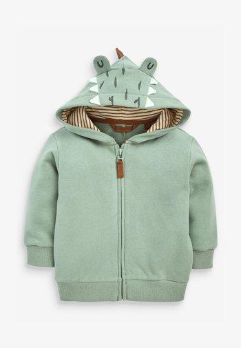 DINO SPIKES - Zip-up sweatshirt - khaki