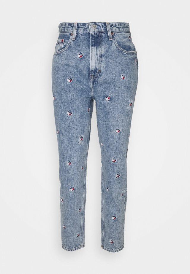 MOM - Jeans Tapered Fit - denim light