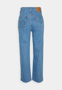 Levi's® - RIBCAGE STRAIGHT ANKLE - Jeans straight leg - jazz wave - 1