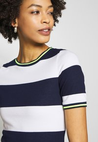 edc by Esprit - STRIPE DRESS - Day dress - navy - 4