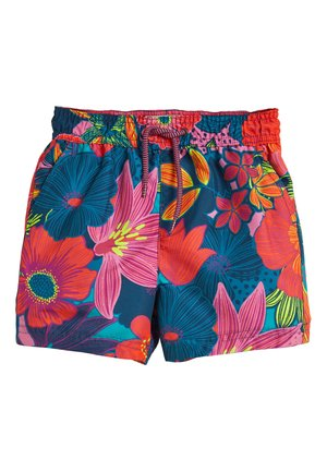 MULTI FLORAL SWIM SHORTS (3MTHS-16YRS) - Plavky - pink