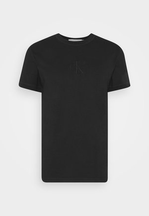ACID WASH TEE - T-shirts basic - black