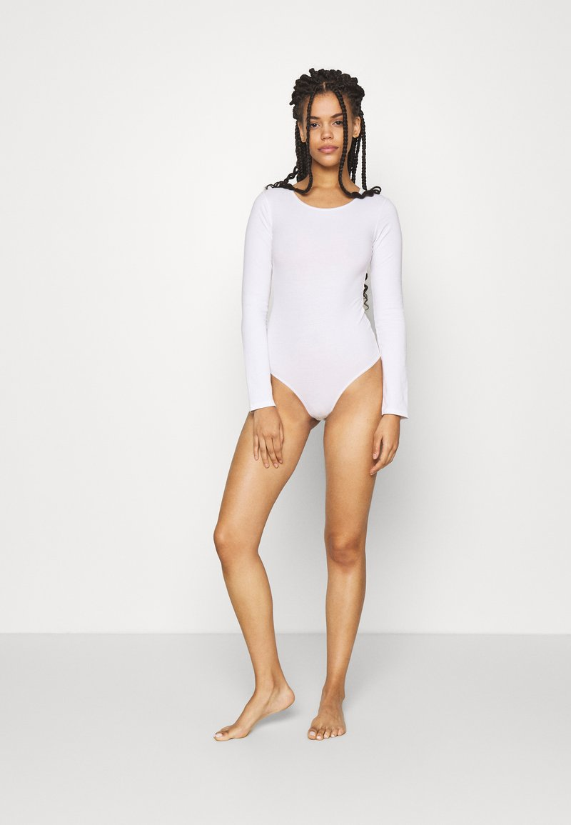 Anna Field - 2 pack long sleeve body - Body - white