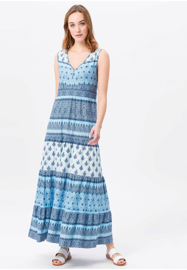 Maxi dress - blau/multicolor