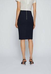 BOSS - Pencil skirt - open blue - 2