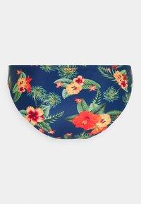 Brunotti - LOLLYPOP FLOWER WOMENS SET - Bikini - deep blue - 8