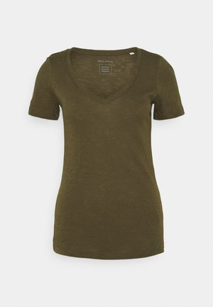 Basic T-shirt - native olive