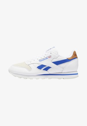 CLASSIC LEATHER SHOES - Matalavartiset tennarit - white