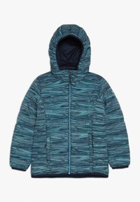 CMP - GIRL JACKET ZIP HOOD - Winter jacket - blue/curacao/gesso - 0