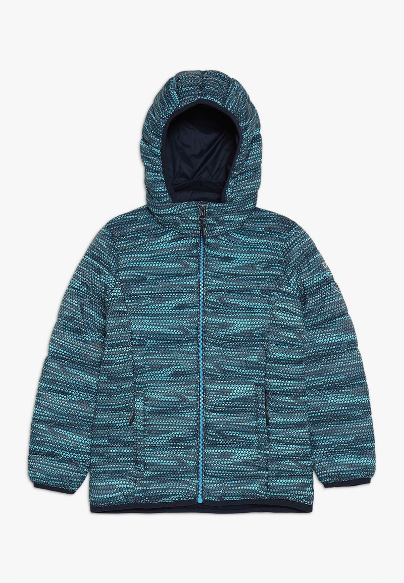 CMP - GIRL JACKET ZIP HOOD - Winter jacket - blue/curacao/gesso