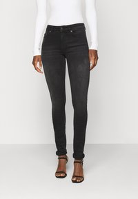 ONLY Tall - ONLBLUSH LIFE - Jeans Skinny Fit - black - 0