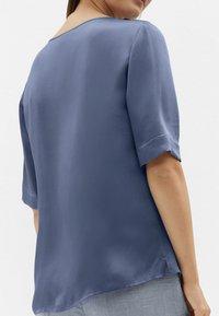 MADELEINE - Long sleeved top - rauchblau - 3