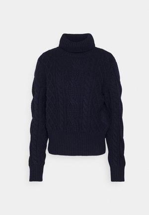 Sweter - navy