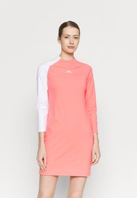 J.LINDEBERG - WILLA GOLF DRESS 2IN1 - Sports dress - tropical coral - 0