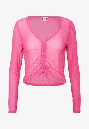 OLLE - Top sdlouhým rukávem - pink