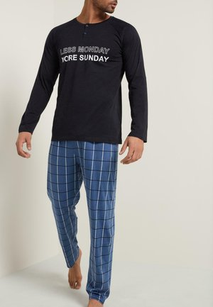 Pyjama set - deep blue st.monday