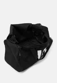 adidas Performance - ESSENTIALS 3 STRIPES SPORTS DUFFEL BAG UNISEX - Sports bag - black/black/white - 3