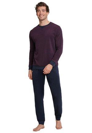 SET - Pyjama set - dunkelblau