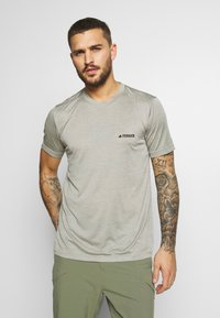 adidas Performance - TERREX TIVID - Basic T-shirt - feagray - 0