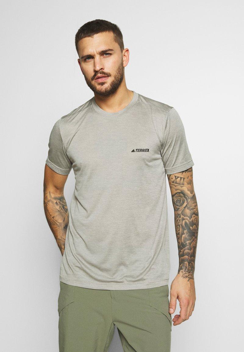 adidas Performance - TERREX TIVID - Basic T-shirt - feagray
