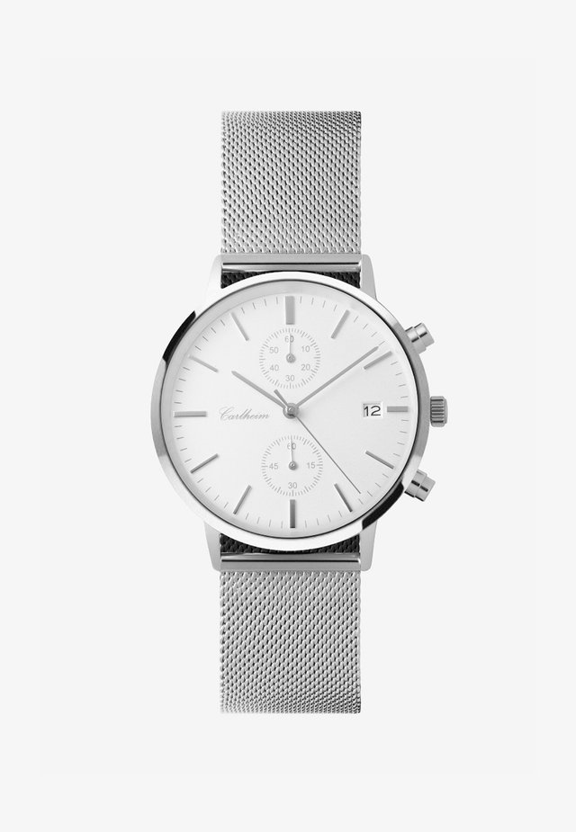 Chronograph watch - silver-white