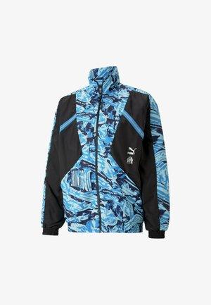 Sports jacket - puma black-blue camo